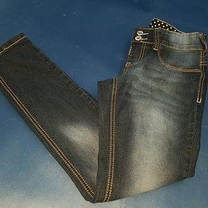 Junior's Rue 21 curvy jegging short jeans size 5/6